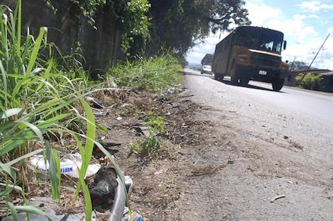 Lugar donde ocurrió el fatal accidente donde fallecieron 5 jóvenes universitarios en Caucagua