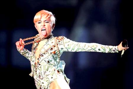 La artista de 21 años, antes conocida por su personaje infantil de Hannah Montana, quiere contar durante las horas previas y posteriores al concierto con alimentos orgánicos.