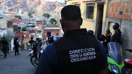 Los cuerpos policiales se han visto desbordados por la delincuencia en Caracas